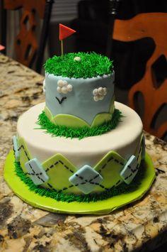 stuff, golf cakes, bake, food, birthday idea