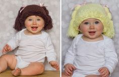 Cabbage Patch Inspired Crochet Hats-2 Colors! GroopDealz | Daily Boutique Deals |