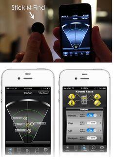 Stick-N-Find, Bluetooth stickers