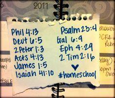 prayers for our homeschool days