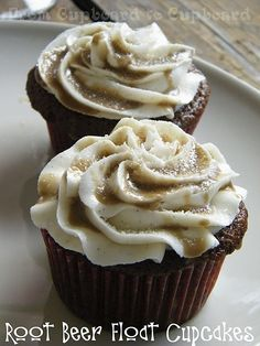rootbeer float cupcakes!