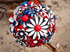 Independence Day Wedding Red, White, and Blue