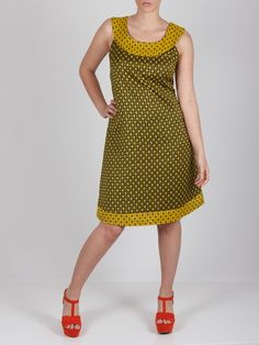 Vestido amarillo #dress