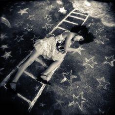 Atelier rue verte, le blog ... Laura Burlton, photographe de rêves à la craie