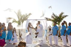 A Dove Release is such a nice touch for a wedding.  LovingUnity.com
