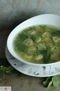 Spinach Totellini Soup