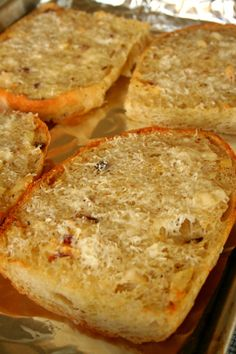 This is the last recipe for garlic bread you will ever need - seriously!!