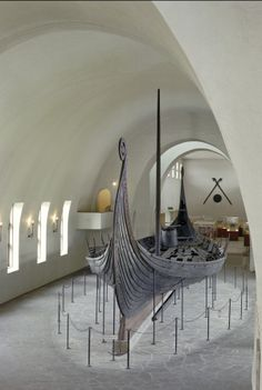 Unearthed Viking boat in Norway