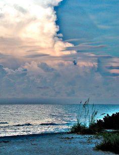 ☼ Sanibel Island, Florida ☼ — The breathtaking colors of a Sanibel Island sunrise