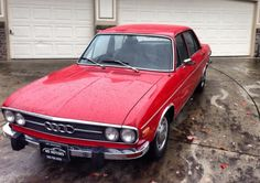 1972 Audi 100LS, hadn't seen one of these before.