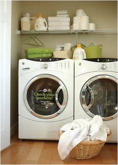 laundry vinyl