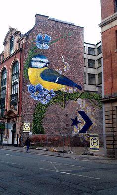 Street art: Manchester
