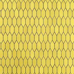 Yellow tiles from Heath Ceramics.