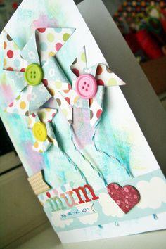 Scrapbook card mothers day*  tarjeta de scrapbook para el día de la madre!!
