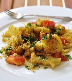 spicy cauliflower curry