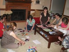 Information on Starting a crafting group and craft ideas