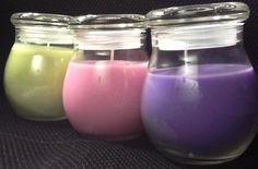 Pretty Homemade Candles | Candle Making at Home. A step-by-step guide to candle making at home ...