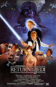 . Re-watching Star Wars.