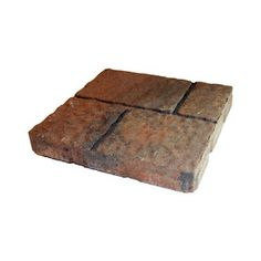 allen   roth�Cassay Ashberry Four-Cobble Patio Stone (Common: 16-in x 16-in; Actual: 15.7-in H x 15.7-in L)