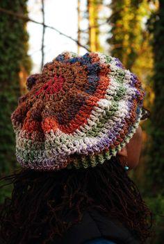 #crochet beret via Etsy