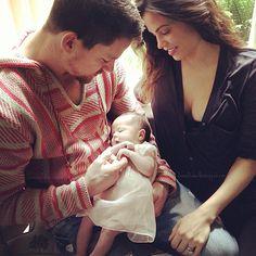 Channing Tatum, Jenna Dewan-Tatum and their daughter Everly