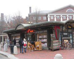 Harvard Square in Cambridge, MA