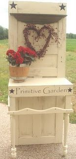 Garden Table Door LOVE