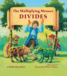 GIVEAWAY - fun math storybooks - Multiplying Menace Divides from HowToHomeschoolMyChild.com