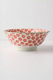 Atom Art Serving Bowls - anthropologie.com