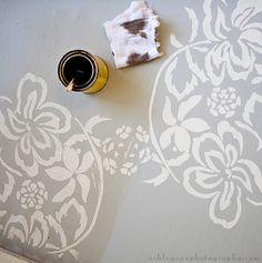 This is a GREAT beginning to end tutorial on painting subfloors!  Love it!