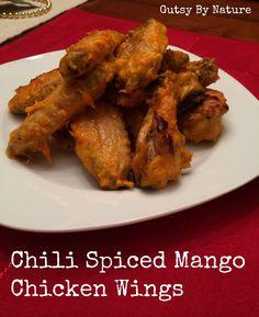 Chili Spiced Mango Paleo Chicken Wings - Gutsy By Nature gutsybynature.com