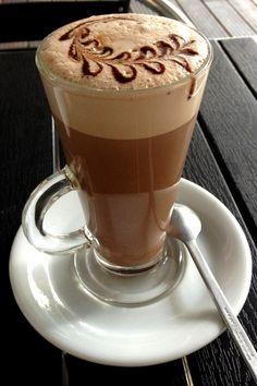 .·:*¨¨*:·.Coffee ♥ Art.·:*¨¨*:·. Iced coffee latte art