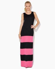 Gwendolyn Colorblock Maxi | Dresses - Fashion Apparel | charming charlie