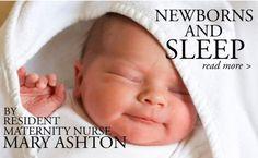 Our Resident Maternity Nurse, Mary Ashton on Newborns & Sleep - My Baba