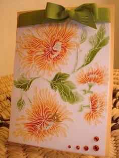 IC165 - ORANGE INSPIRATION....... by Karen B Barber - Cards and Paper Crafts at Splitcoaststampers