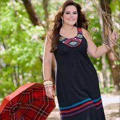 roupas para gordinhas moda 2012