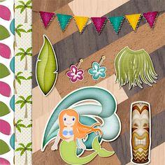 free scrapbook, beaches, art, freebi mini, hop freebi, digit freebi, collect freebi, island, freebi kit