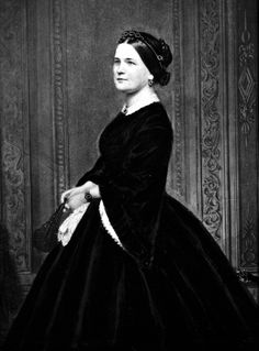 Mary Todd Lincoln (wife of Abraham Lincoln) circa 1860-1865.