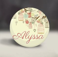 Personalized Bridesmaid Mirror - $3.50. http://www.bellechic.com/products/5006f88cb6/personalized-bridesmaid-mirror