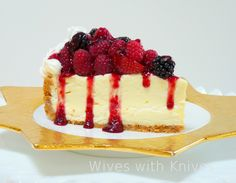 Paul Fisher's Fabulous No-Bake Cheesecake