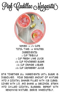 Two delicious drink recipes from Tiny Bits from Boo for a Pink Cadillac Margarita and Watermelon Bellini. They sure have me ready for summer! For more tasty drink recipes, visit my Recipes Board and Entertaining Board on Pinterest.