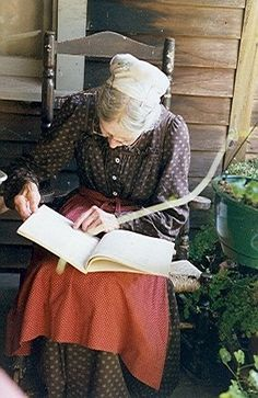Tasha Tudor with Book.