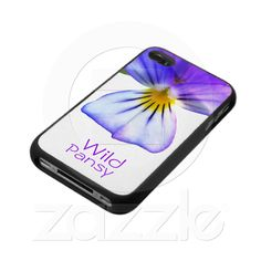 Wild Pansy - iPhone 4 Case: $42.30