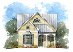 The Windsor House, 2,100 sq.ft., 3 bedrooms and 3 1/2 baths --plan #1865