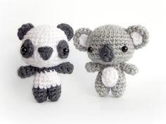 PDF Crochet Pattern Amigurumi Pattern Cutie Bear by AmiAmore