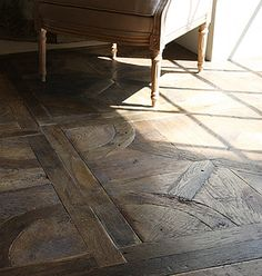 Interesting Wood Patterns on Floors and Walls   Makely School for Girls
