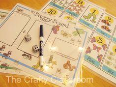 Buggy Board Math Mats-