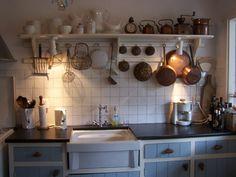 a Dutch kitchen that I photographed in Rhenen Nederland