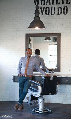 Barber Shop Denton Tx : , so he decided to open his own barber shop, Fort Worth Barber Shop ...