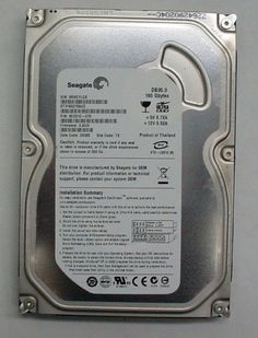"Lot of 10 Seagate 160 GB IDE Hard Drives ST3160215ACE 7200 RPM 3 5"" Internal 0102645918440 